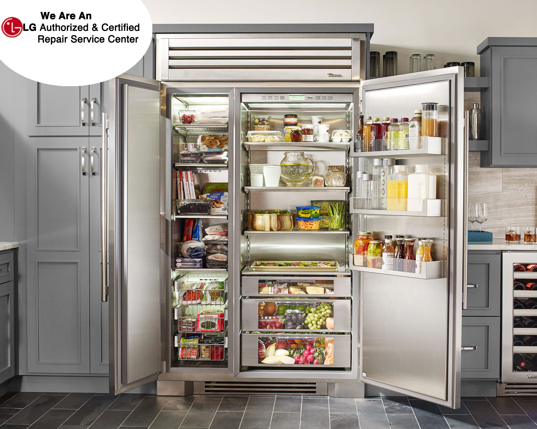 High End Refrigrators